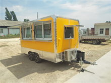 2020 Swedien Popular Outdoor Kitchen Mobile Catering Food Van With Sanck Equipment
