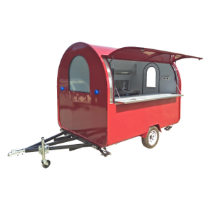 2021 Hot Sell Snack Hamburger Mobile Bubble Tea Trailer