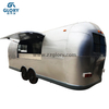 Mobile House 5.5m Double Axles Stainless Steel Food Kitchen Food Truck