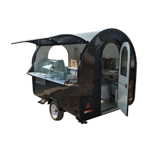 Malaysia Towable Kitchen Food Trucks for Street Food Snack