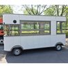 4.2m China Low Speed 4 Wheels Mobile Electric Food Trailer