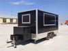 Shawarma Food Trailers with Bathroom Ice Cream Trailer Mobile Food Truck