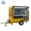 New Arrival Mobile Kitchen Food Cart Truck Outdoor/ Customized China Fryer Crepe Mobile Food Cart