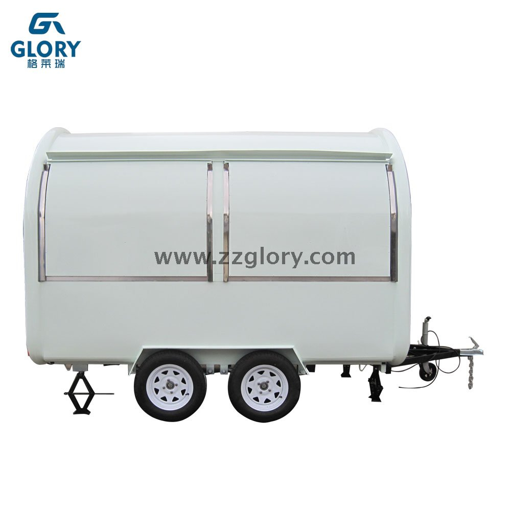 China Supplier Colorful Street Mobile Food Cart