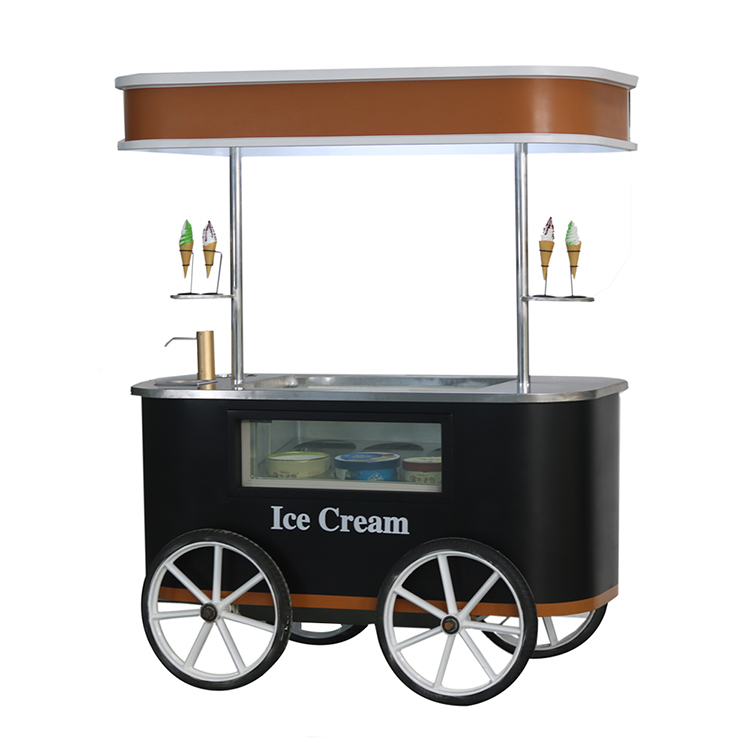 Electric Ice Cream Tricycle For Sale