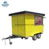 Good Quality Mobile Food Fried Ice Cream Cart Trailer, Puff Shaved Ice Stall Cart in Malaysia