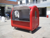 China manufacturer produces fiberglass mobile fast Ice Cream food truck