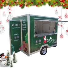 Towable Food Trailer Restaurant Food Truck For Sale