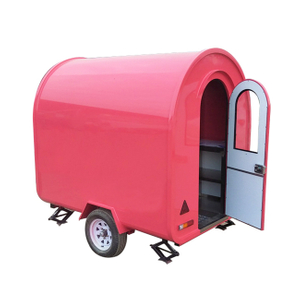 Modern Outdoor Mobile Catering Food Trailer with Snack Machine
