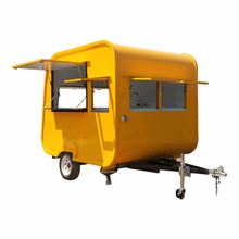 New Design Type Food Trailer With Coffee Machine For Hot Dog Snack